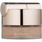 Clarins Face Make-Up Skin Illusion base de maquillaje en polvo con pincel tono 114 Cappucino 13 g