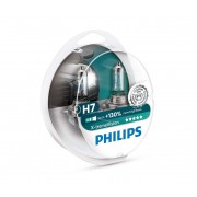 SET 2x Bec auto Philips X-TREMEVISION 12972XV+S2 H7 PX26d/55W/12V