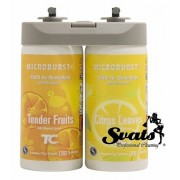 RUBBERMAID / MicroBurst Duet Refill (4 x / 2 x 121 ml) Tender Fruits & Citrus Leaves