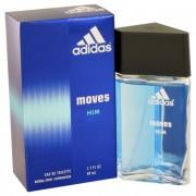 Coty Adidas Moves Eau De Toilette Spray 1.7 oz / 50.3 mL Fragrance 402998