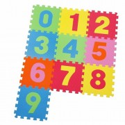 Knorrtoys - Covoras Puzzle Numere, 10 buc