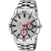 TRUE CHOICE TC 04 SILVER WATCHS FOR MEN BOYS.