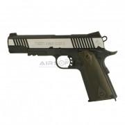 Colt M1911 Rail Gun Silver (Cybergun)