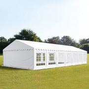 TOOLPORT Partytent 6x14m PVC 500 g/m² wit waterdicht Feesttent