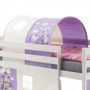 IDIMEX Tunnel MAX pour lit surélevé, motif princesse