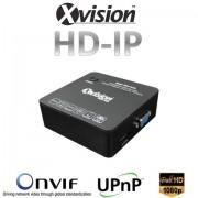 IP NVR rekordér pre 8/16 kamier 1080p/720p