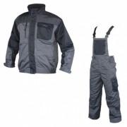 Costum de lucru salopeta cu pieptar Ardon 4Tech