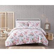 Cottage Classics Juego de edredón de algodón con diseño de sirsaca, Multiple, Twin XL Comforter Set, 1