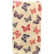 Husa Flip Cover Tellur pentru telefon Huawei P8 Cream