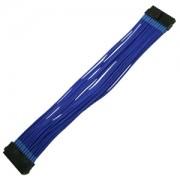 Cablu prelungitor Nanoxia 24 pini ATX, 30cm, Blue