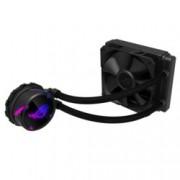 Охлаждане за процесор Asus ROG STRIX LC 120 Aura Sync, съвместимост със сокети Intel 115x/1366/2011/2011-3/2066 & AMD AM4/TR4