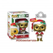 Santa C3-PO Navidad Funko Pop Star Wars Holidays Christmas