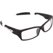 Overdrive Rectangular Sunglasses(Clear)