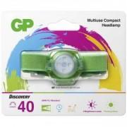 Фенер - Челник GP BATTERIES CH31, LED KIDS /детски/ 40 лумена, зелен