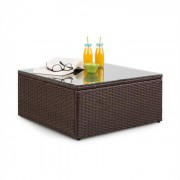 Blumfeldt Theia polyrattan dohányzóasztal (GDMC5-Theia Table BR)