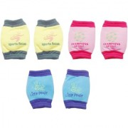 new born baby knee cap set ( 6 - 12 months ) ( A pack of 3 set )