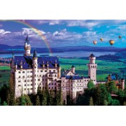 Summer at Neuschwanstein Castle Jigsaw Puzzle, 2000-Piece