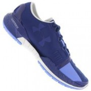 Under Armour Tênis Under Armour SpeedForm Amp - Feminino - AZUL ESC/AZUL