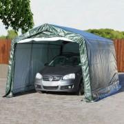taltpartner.se Garagetält 3,3x4,8m PE 260 g/m² mörkgrön vattentät