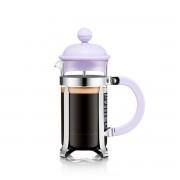 Bodum CAFFETTIERA Cafetière à piston, 3 tasses, 0.35 l, en plastique Verbena