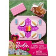 Barbie Set Mobilier Exterior Picnic