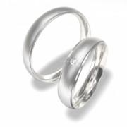 Luxusní Ocelové snubní prsteny 0140202033