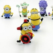 Forti Despicable Me Minions Set Of 8 Action Figures Included Minion Ninja Fireman Baker Golfer Stuart Dave
