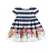 MAYORAL Stripe Floral Dress