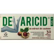 Biofarm Devaricid Plus C cu extract de castane (30 comprimate filmate)