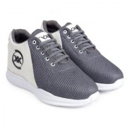 3 Inch Grey Hidden Height Increasing Sport Shoes for Cricket Football Basketball etc.