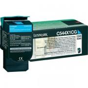 Originale Lexmark C544X1CG - Toner ciano - 130854 - Lexmark
