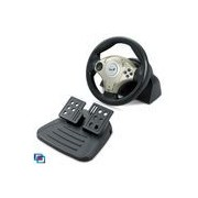 Volan Genius Twin Wheel F1, 8-Way D-pad+4 Buttons, mini, Vibration, PC-PlayStation2