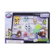 Littlest Pet Shop Pets set de joaca cu figurine B9753 A Colorful Bunch