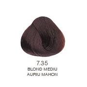 Vopsea Permanenta Evolution of the Color Alfaparf Milano - Blond Mediu Auriu Mahon Nr 7.35