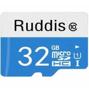 Ruddis 32GB De Alta Velocidad Clase 10 TF / Micro SDXC Uhs-1 (U1) Tarjeta De Memoria