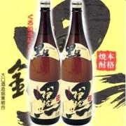 大口酒造 本格焼酎 黒伊佐錦 1800ml瓶×2本