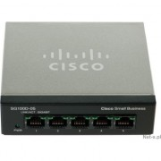 Switch Cisco SG110D-05, 5 x 10/100/1000 Mbps, Gigabit