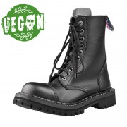 STEADY´S bakkancs - 10-soros - STE/10 /VEGAN_black