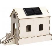 Moara de apa cu modul solar