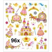 Geen Stickervel prinsessen 96 stuks