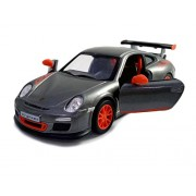 Kinsmart 1:36 Scale Porsche 911 GT3 RS Die-Cast Car with Openable Doors & Pull Back Action