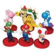 Nintendo's Super Mario Brothers Toys: Collectible Mini Figures (Set of 6)