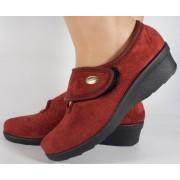Papuci de casa visinii din plus dama/dame/femei (cod 30471)