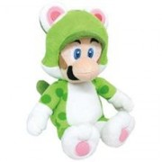 Figurina De Plus Official Sanei Super Mario Bros 3D World Cat Luigi 25Cm