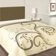 Cuvertură de pat Dominic, bej, 240 x 260 cm, 240 x 260 cm