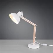 Trio Tafellamp Kimi - Metaal - Wit Mat