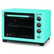 Cuptor electric 25l HB-9055 1420W Turquoise+ 2 tavi chec Cadou - incarcator masina 2 usb
