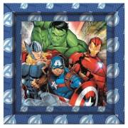 Puzzle 60 piezas Avengers con Marco - Clementoni