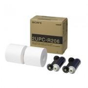 SONY Papel 2UPC-R206 15 x 21cm (2x350 Vistos) Snaplab 20/UPDR-200