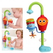 """Baby Bath"" Fun Toy - Fill and Spill Scuba Diver - Automated Water Squirter - Stackable Cups - Playset by Pinnacle"
